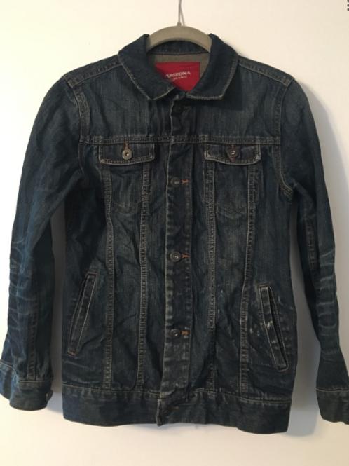 Large Custom Vintage Denim Jacket