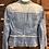 Thumbnail: Medium Peplum Denim Jacket
