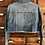 Thumbnail: Small Custom Cropped Denim Jacket