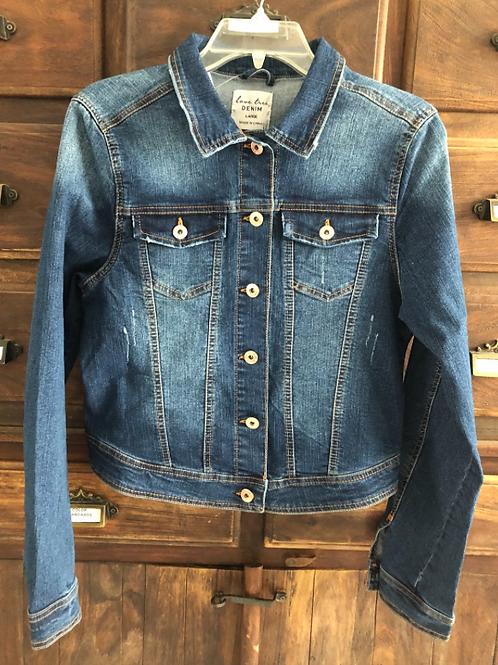 Large Custom Classic Denim Jacket