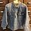 Thumbnail: XL Custom Vintage Denim Jacket