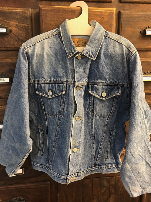 XL Custom Vintage Denim Jacket