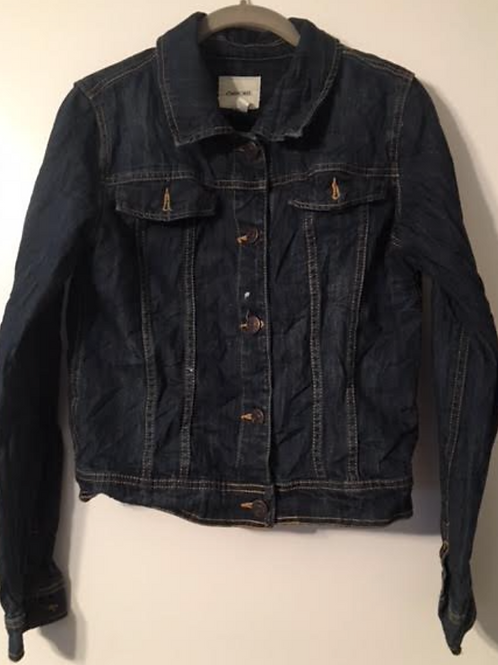Medium Custom Dark Denim Jacket