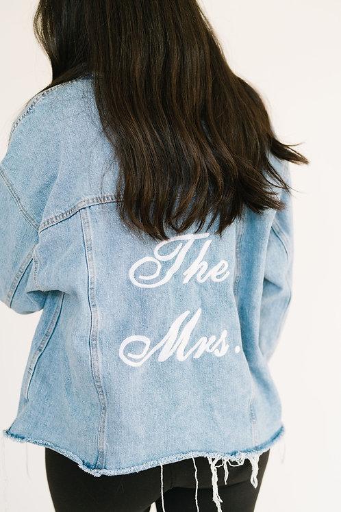 Medium 'The Mrs.' Denim Jacket