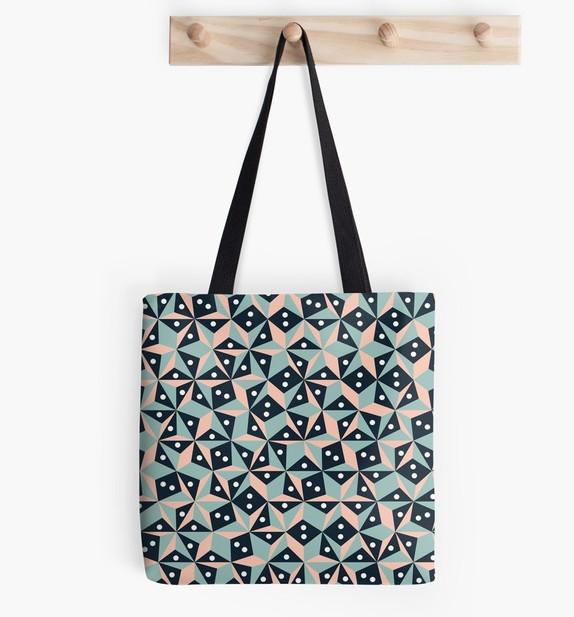 Jumbled Triangles - Tote Bag