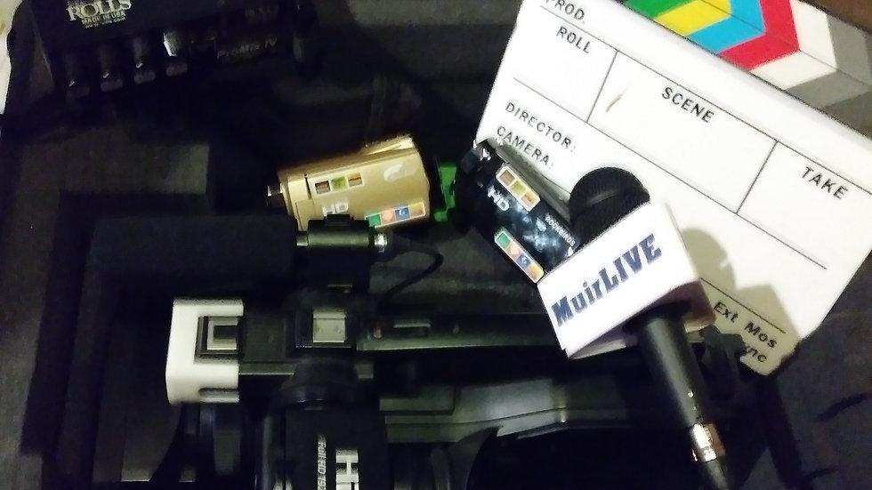 ENG Camera Shoots