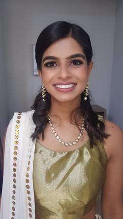Southeast Asian bridal makeup