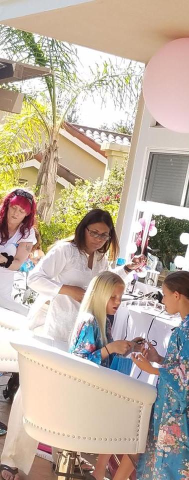 Girls Massage Spa Party