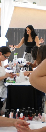 Jens Bride to Be Nail Party