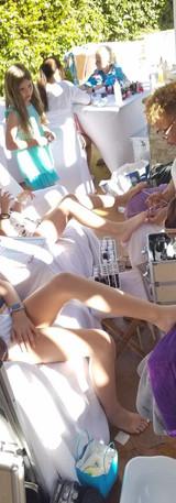 Calabasas Girls Massage Party