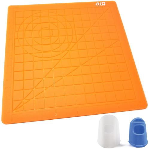 3D Silicone Drawing Mat, Orange