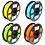 "Thumbnail: PLA Bundle ""Bright"" (Yellow, Bright Blue, Bright Green, Orange)"