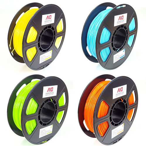 "PLA Bundle ""Bright"" (Yellow, Bright Blue, Bright Green, Orange)"