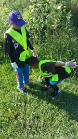 On the scene - Wiltz boys litter pickup