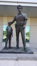 Public Safety Statue