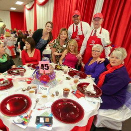 Red Hat Luncheon - Table 45