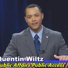 Quentin hosts Public Affairs Public Access