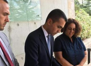 Gerusalemme: un incontro casuale con la delegazione del Movimento 5 Stelle