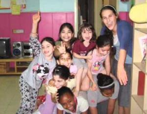 Shabbaton a Bene Barak con bambini a rischio
