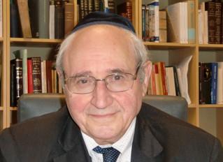 Rav Giuseppe Laras Z.Z.L