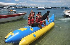 Banana Boat in Aqua Star Water Sports Bali