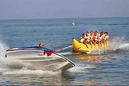 Banana Boat Ride in Bali. Bali water sports