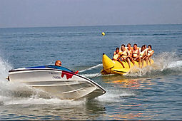 Banana Boat Ride in Bali. Bali water sports