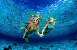 Snorkeling. Bali water sports
