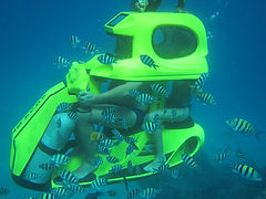 Water Sports Bali. Underwater scooter Bali