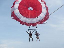 Parasailing water sports Bali