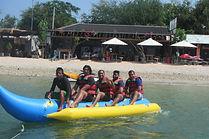banana boat water sports bali
