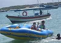 Donut Boat and Ski Tube Bali water sports