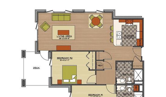 North suite floor plan