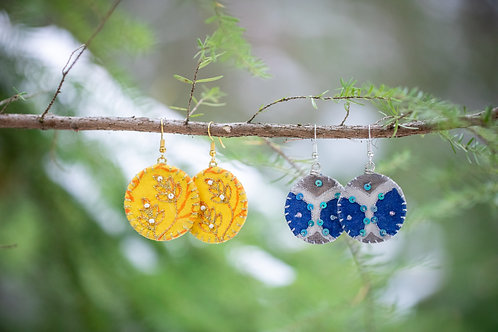 Circle Aari Earrings