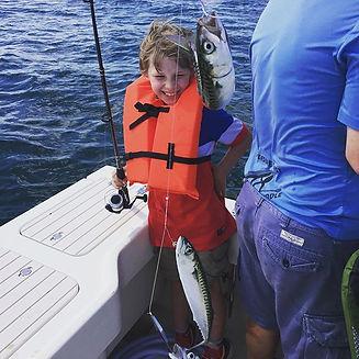 Mackerel Fishing in Maine