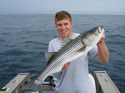 Striped Bass Fishing in Maine