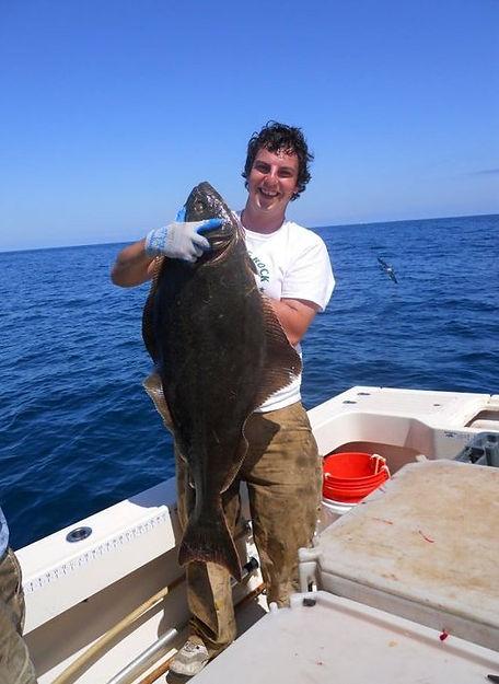 Gulf of Maine Halibut Fishing