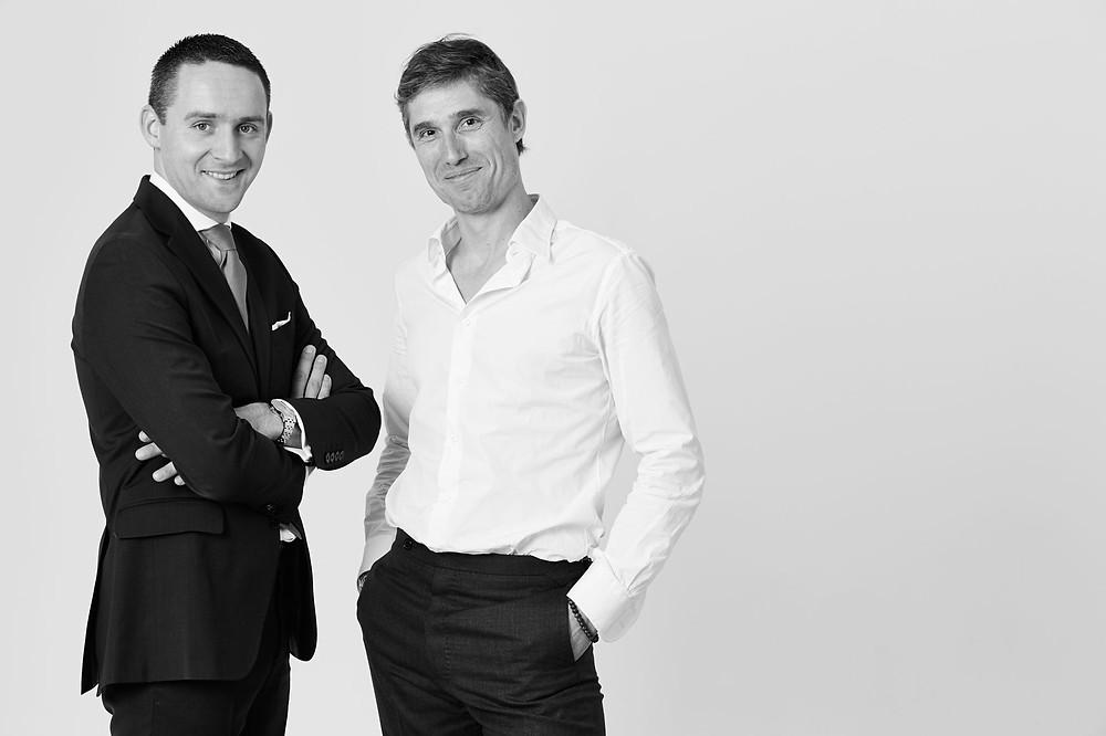Antoine Pétrus et le Chef Christophe Pelé