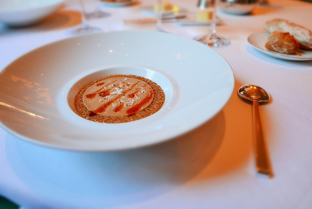 Les Perles du Japon - « Risotto », Crème de Morilles, au Parmesan et Jus Gras