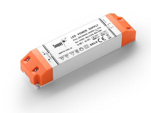 LED Driver SNP75-12VL-E, 70W 12VDC