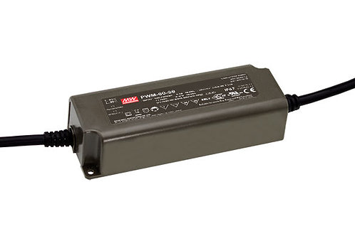 LED Driver PWM-60-12, 12VDC 5A 60W, IP67