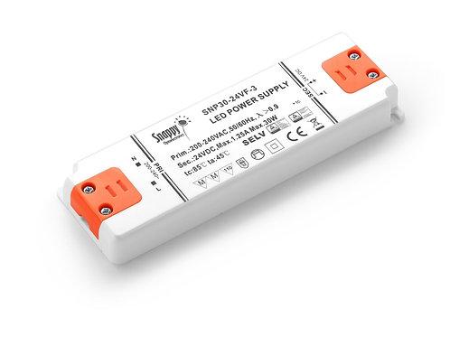 LED Driver SNP30-12VF-3, 30W 12VDC