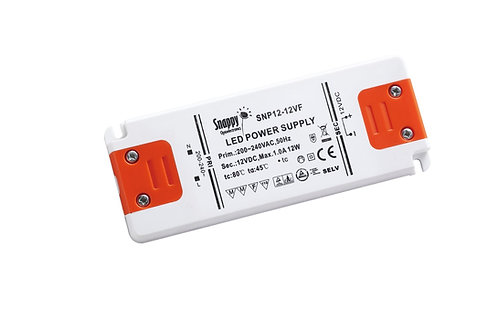LED Driver SNP12-12VF-1, 12W 12VDC