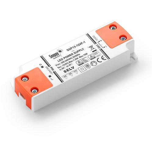LED Driver SNP15-12VF-1, 15W 12VDC