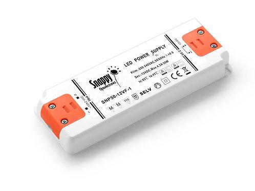 LED Driver SNP50-12VF-1, 50W 12VDC