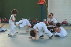 Momento da capoeira