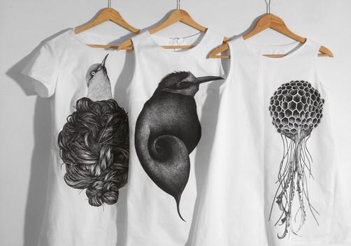Letní šaty ptačí král, med_ůza a kukačka