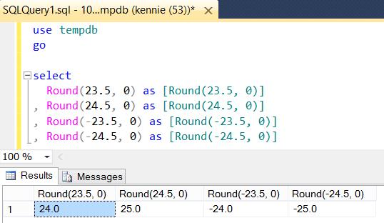 Rounding in T-SQL
