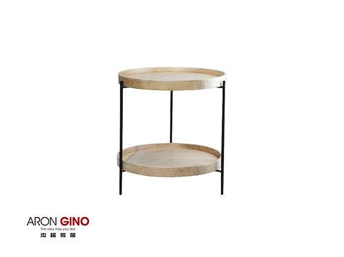ACB-701/邊几/金屬/實木桌面