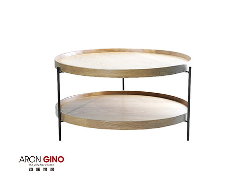 ACB-702/邊几/金屬/實木桌面